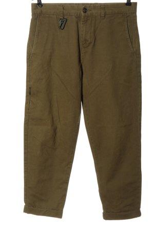 Bershka High Waist Trousers khaki casual look