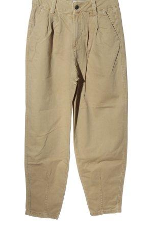 Bershka High Waist Jeans nude Casual-Look