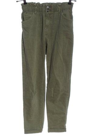 Bershka High Waist Jeans khaki Casual-Look