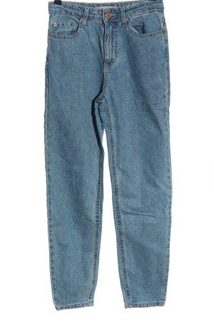 Bershka High Waist Jeans blue casual look