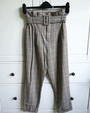 Bershka Pantalon taille haute multicolore
