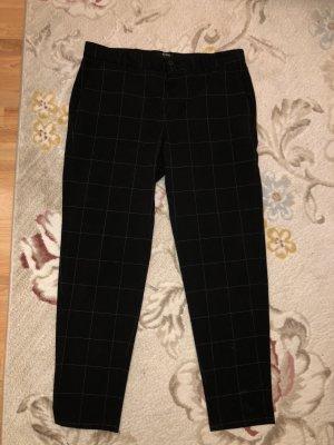 Bershka Spodnie biodrówki czarny-szary