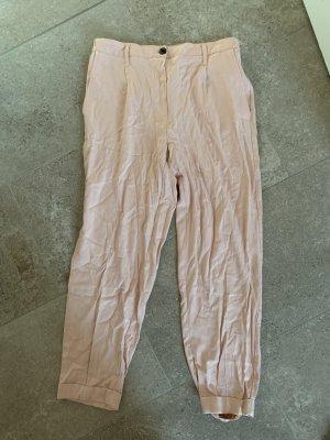 Bershka Linen Pants multicolored
