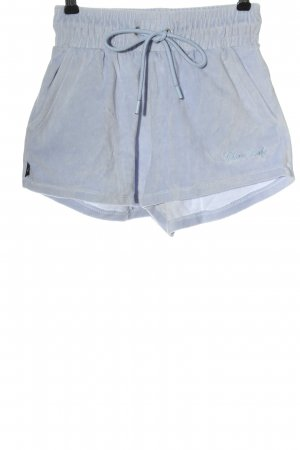 Bershka Hot Pants lila Casual-Look
