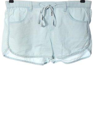 Bershka Krótkie szorty niebieski W stylu casual