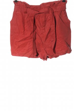 Bershka Hot Pants rot Casual-Look