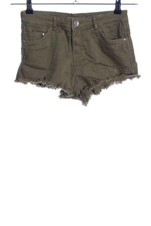Bershka Hot Pants khaki Casual-Look