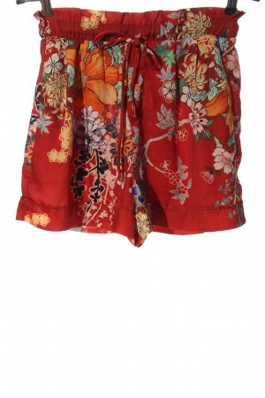 Bershka Short moulant motif de fleur style décontracté