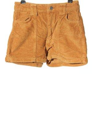 Bershka Hot Pants hellorange Casual-Look