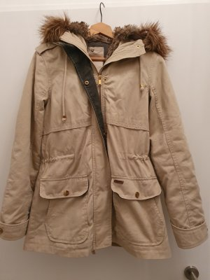 Double Jacket sand brown-bronze-colored