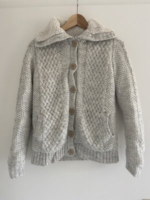 Bershka Teddy Jacket light grey