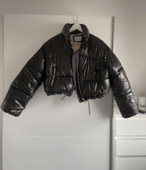 Bershka Down Jacket black