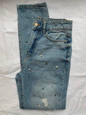 Bershka Mom-Jeans multicolored