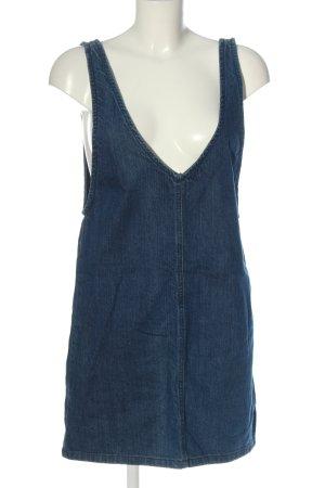 Bershka Denim Dress blue casual look
