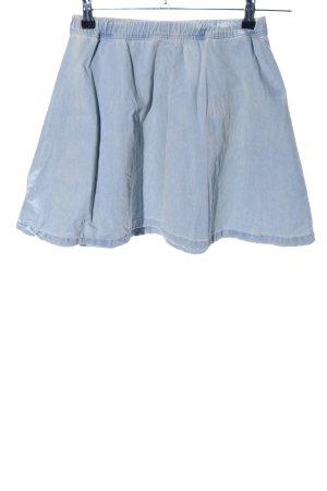 Bershka Jeansrock blau Casual-Look