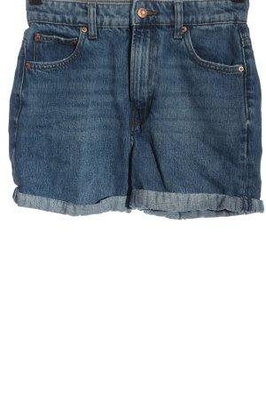 Bershka Denim Shorts blue casual look