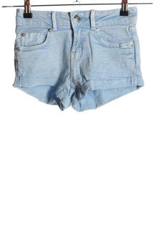 Bershka Jeansowe szorty niebieski W stylu casual