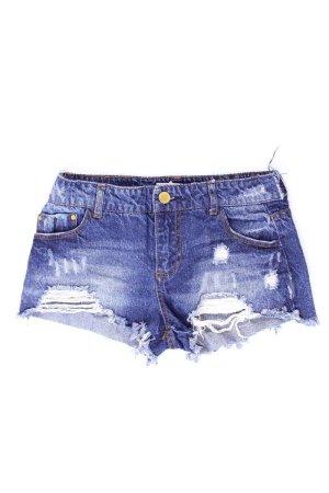 Bershka Jeansshorts Größe 36 blau aus Baumwolle