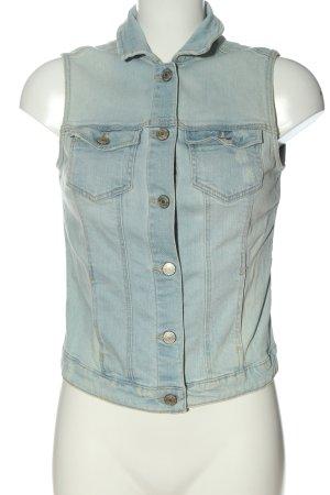 Bershka Jeansweste blau Casual-Look