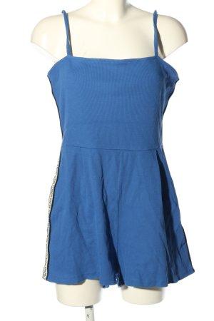 Bershka Jumpsuit blau Casual-Look