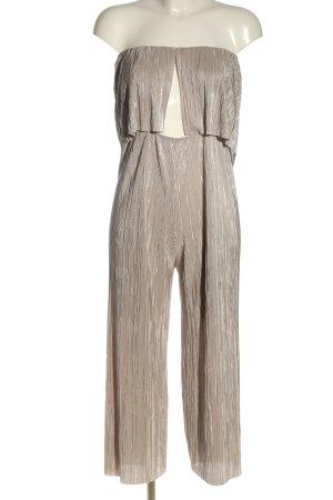 Bershka Jumpsuit creme Elegant