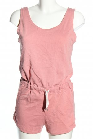 Bershka Jumpsuit pink Casual-Look