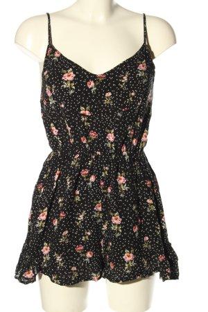 Bershka Jumpsuit flower pattern casual look