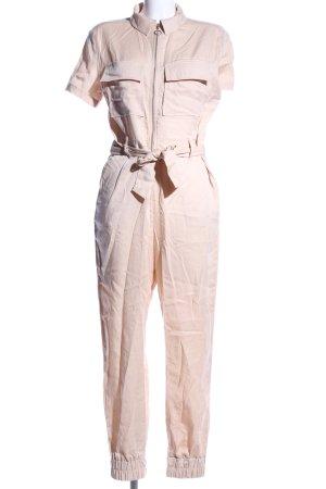 Bershka Jumpsuit creme Business-Look