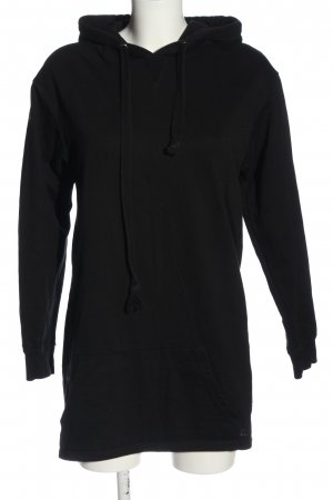 Bershka Kapuzensweatshirt schwarz Casual-Look