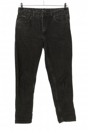 Bershka Carrot Jeans black casual look
