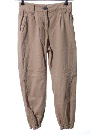 Bershka Kaki broek bruin casual uitstraling