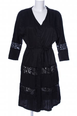 Bershka Kimono schwarz Casual-Look