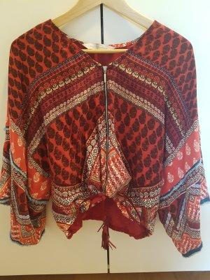 Bershka Kimono Sleeve Top