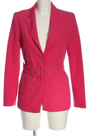 Bershka Klassischer Blazer roze casual uitstraling
