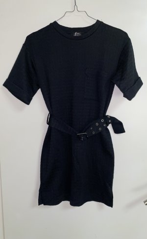 Bershka Kleid Minikleid Strickkleid Mit Gürtel XS 34