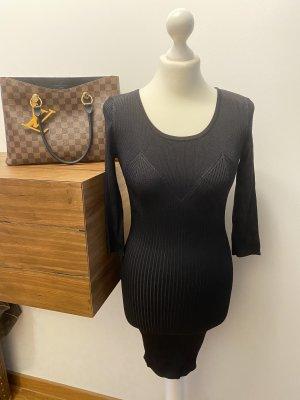 Bershka Vestido elástico negro