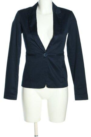 Bershka Blazer corto blu stile professionale