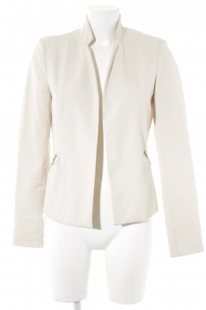 Bershka Kurz-Blazer hellbeige Business-Look