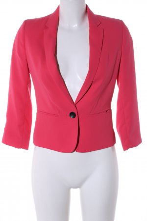 Bershka Kurz-Blazer rot Business-Look