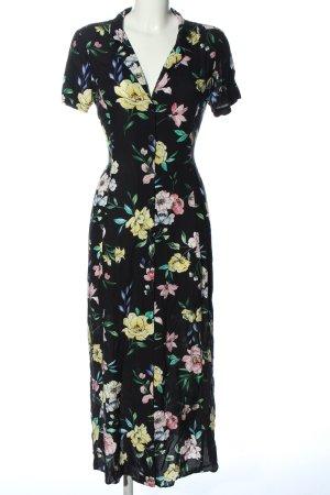 Bershka Shortsleeve Dress allover print casual look