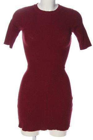 Bershka Kurzarmkleid rot Elegant