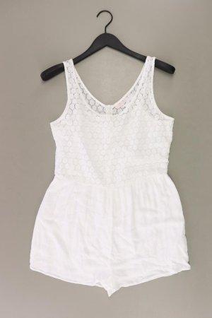 Bershka Kurzer Jumpsuit bianco sporco