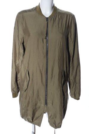 Bershka Lange Jacke khaki Casual-Look