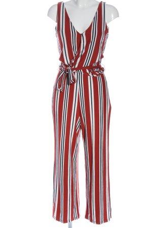 Bershka Langer Jumpsuit motif rayé style décontracté
