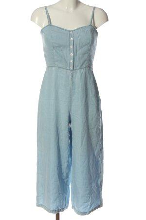 Bershka Langer Jumpsuit blau Casual-Look