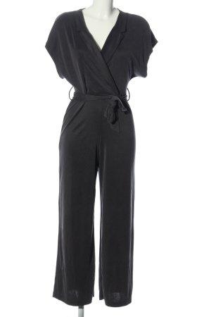 Bershka Langer Jumpsuit nero stile casual