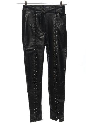 Bershka Leggings schwarz Casual-Look