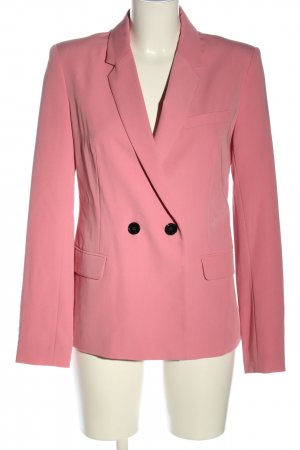 Bershka Long-Blazer pink Business-Look