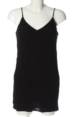 Bershka Lange top zwart casual uitstraling