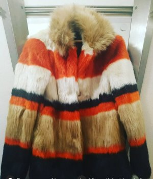 Bershka Pelt Jacket multicolored